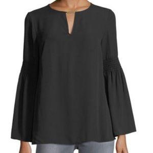 MICHAEL Michael Kors Tops - NWOT Michael Kors black Bell sleeve blouse size M
